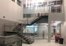 Stainless Steel Square Cable Railing - Rochester, MN