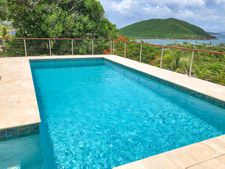 Ipe & Round Stainless Steel Cable Railing - St Thomas, VI