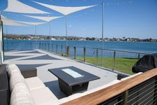 Balau & Square Stainless Steel Cable Railing - San Diego, CA