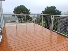 Stainless Steel Round Cable Railing - San Francisco, CA