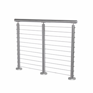 Cable Railing System Kit - Stainless Round