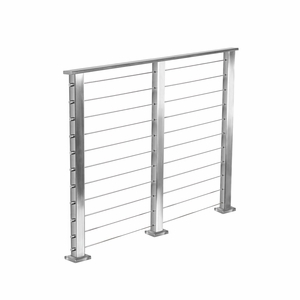 Cable Railing System Kit - Stainless Square