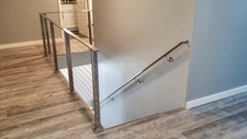 Square Stainless Cable Railing - Vancouver, WA