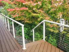 Clay Aluminum Cable Railing - Corvallis, OR