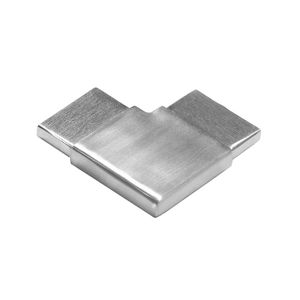 stainless flat 90 degree elbow cable railing top rail