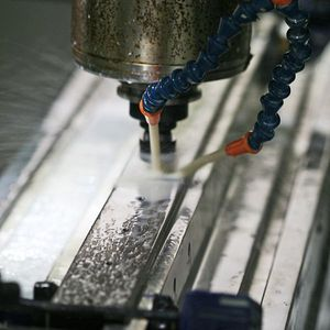 cable railing hole drilling
