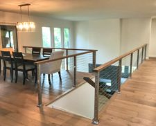 Ipe & Square Stainless Steel Cable Railing - Boulder, CO