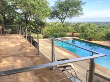 Stainless Round & Rectangular Cable Railing - Wimberely, TX