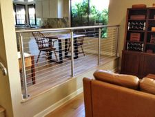 Stainless Steel Round Cable Railing - Bakersfield, CA