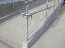 Stainless Steel Round Cable Railing - New Castle, CA