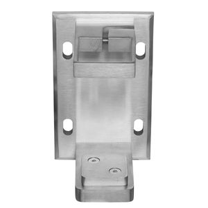 stainless square fascia bracket for cable railing posts