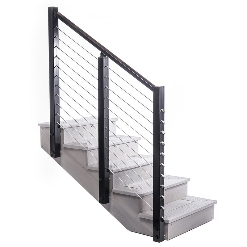 Stair Rail for Post-to-Post Deck Railing