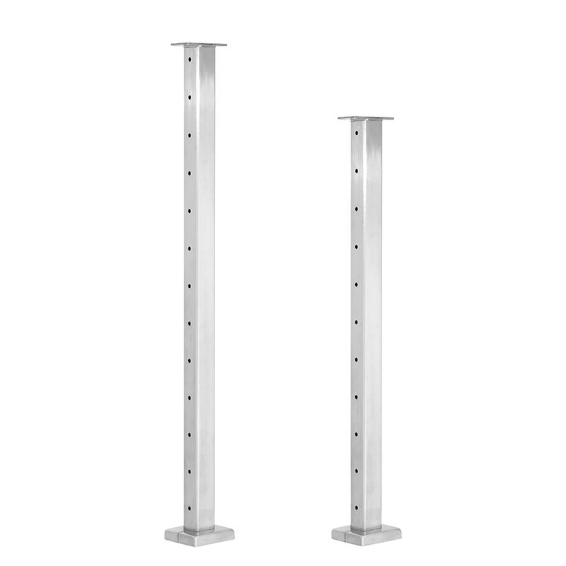 Welded Stainless Steel Cable Railing Posts - St  Croix