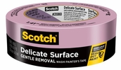 """3M 2080-1.5A  1-1/2"""" x 60-yd Scotch Safe-Release Painters Tape for Delicate Surfaces"""