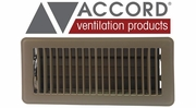 Accord Brown Standard Metal Floor Registers