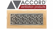 Accord Forte Design Floor Registers