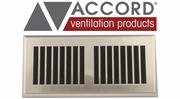 Accord Louvered Design Floor Registers
