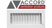 Accord Standard Sidewall/Ceiling Registers with Adjustable Air Deflection Design
