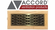 Accord Trellis Design Floor Registers