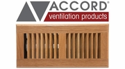 Accord Wood Faceplate Floor Registers