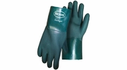 "Boss 1712  Ruff Grip PVC Gloves with 12"" Gauntlet Cuff - Large"