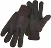 Boss 1850  Lined Jersey Dotted Palm Knit Wrist Gloves - Large