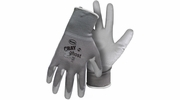 Boss 3000  Gray Ghost Nylon PU Coated Palm Gloves - Large