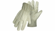 Boss 4052  Men's Quality Grain Pigskin Driver Gloves - Medium
