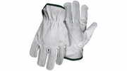 Boss 4065  Gray Split Cowhide Leather Driver Gloves - Large