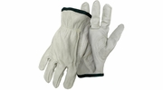 Boss 4068  Economy Grade Grain Leather Driver Gloves - Medium