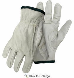 Boss 4068  Economy Grade Grain Leather Driver Gloves - X-Large