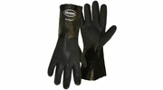 Boss 4217  Jersey Lined PVC Dipped Gaunlet Gloves with - Large
