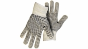 Boss 5522  Reversible String Knit Gloves with PVC Dots on Both Sides - Large