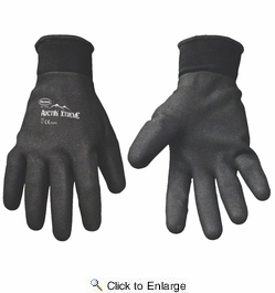Boss 7841  Arctik Extreme Fully Coated Foam Nitrile Palm Insulated Gloves - X-Large