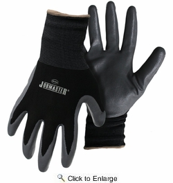 Boss 8442  Jobmaster Nylon with Nitrile Palm Gloves - X-Large