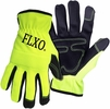 Boss 901  Men�s High-Vis Green Touchscreen Mechanic Synthetic Leather Palm Gloves - Large
