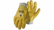 Boss 930  Smooth Grip PVC Gloves with Knit Wrist - Large
