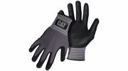 Boss CAT017419  Cat Glove Dipped and Dotted Nitrile Coated Palm Gloves - X-Large