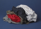 Buffalo Industries RAGBAGCOLOR  Colored T-Shirt Rags - 10 lbs
