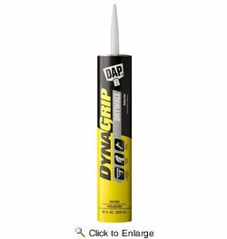 Dap  27518  Dynagrip Drywall Construction Adhesive - Off-White 28-oz