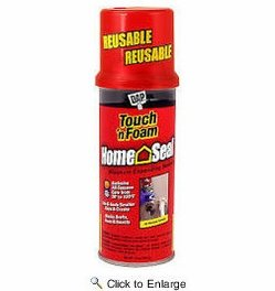 Dap  7565000082  Touch'N Foam Home Seal Minimal Expanding Foam - Red 12-oz
