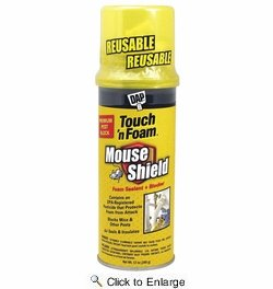 Dap  7565012506  Touch'N Foam Mouse Shield Mouse Shield Foam Sealant - 12-oz