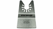 "Exchange-A-Blade 2070072  Stay Sharp 2"" Rigid Scraper Blade for Oscillating Tools"