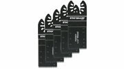 "Exchange-A-Blade 2070222  Stay Sharp 1-1/4"" HCS Flush Cut Oscillating Tool Blades for Wood - 5 Blades per Package"