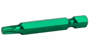 """Exchange-A-Blade 83327  Stay Sharp 2"""" x T25 Torx Green Colored Industrial Screwdriver Bits - 10 per Package"""