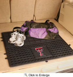 "Fan Mats 10845  Texas Tech University Red Raiders 31"" x 31"" Vinyl Cargo Mat"