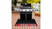 "Fan Mats 12112  Texas Tech University Red Raiders 26"" x 42"" Grill Mat"