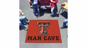 Fan Mats 14614  Texas Tech University Red Raiders 5' x 6' Man Cave Tailgater Mat