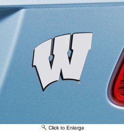 Fan Mats 14935  University of Wisconsin Badgers Emblem
