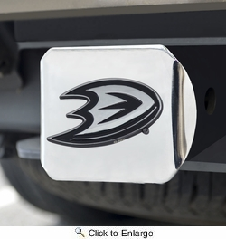 Fan Mats 17192  NHL - Anaheim Ducks Hitch Cover